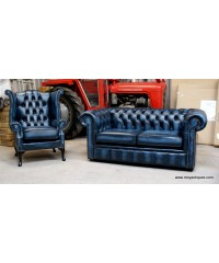 Chesterfield Sofa Blue Ireland