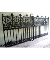 Antique Cast Iron Gates