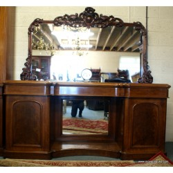Mirror Back Chiffonier Sideboard