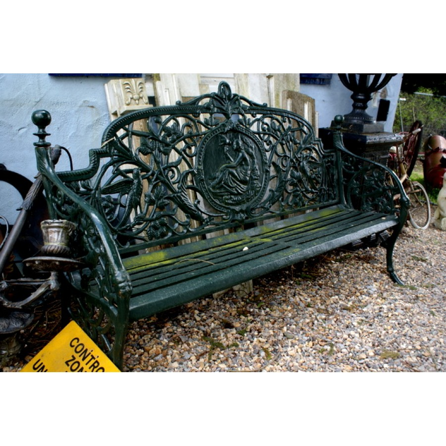 Cast Iron 4 seater bench