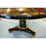 Regency Style Chinoiserie Table
