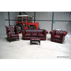 Chesterfield Suite Sofa, Wing and Tub