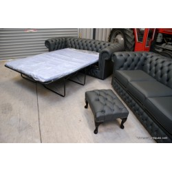 Chesterfield 3 seat sofa bed