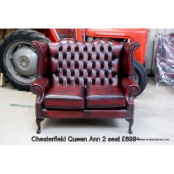 Chesterfield 2 seater Queen Ann