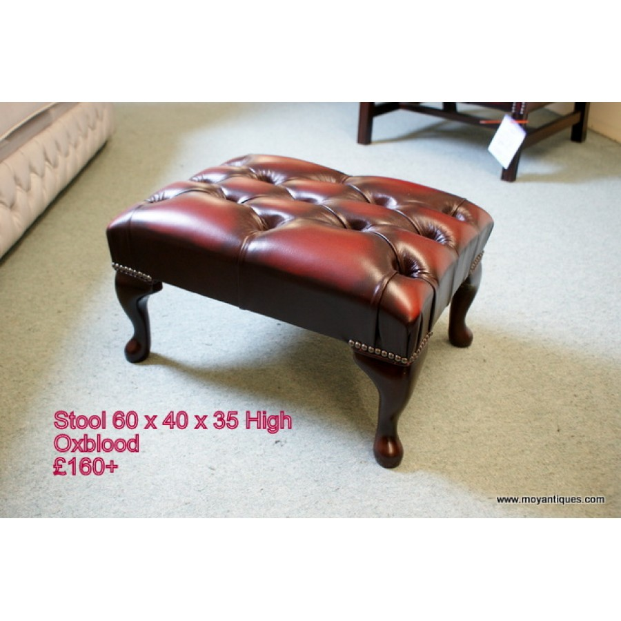 Oxblood Stool