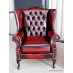 Chesterfield Flat Wing Chairs