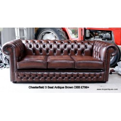 Chesterfield Sofa Double Button Front Border