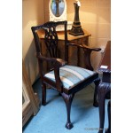 Repro Chippendale style Table & Chairs