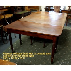 Regency Sectional Dining Table