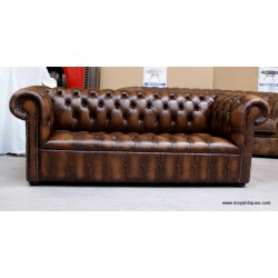 Chesterfield 3 seat Button Seat