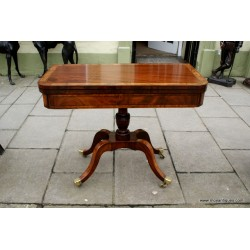 George IV Console Games Table