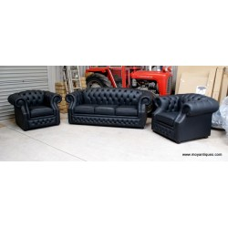 Chesterfield Sofa Ireland Roxborough Black