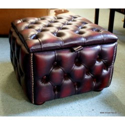 Chesterfield Stool Box