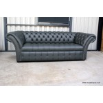 Chesterfield Sofa Charlemont 3 seat Grey