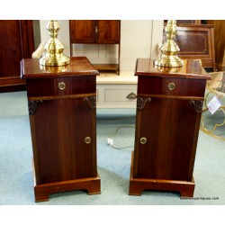 Art Deco Bedside cabinet Pair SOLD