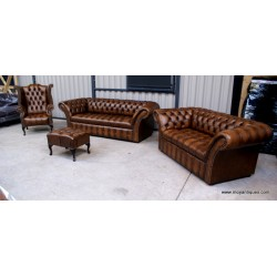 Chesterfield Sofa The Charlemont Bronze
