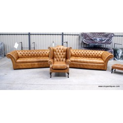 Chesterfield Sofa Pair The Charlemont