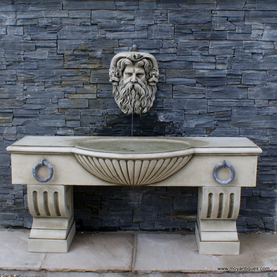 Elevated Wall Trough Font