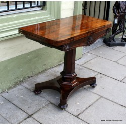 Rosewood console/Games TableSOLD
