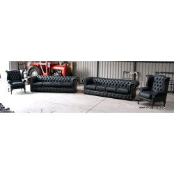 Chesterfield 4 seater Steel