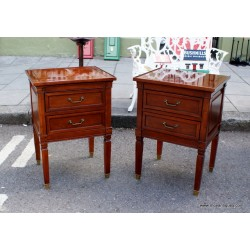 Pair Repro End Tables/Sofa Bedside SOLD
