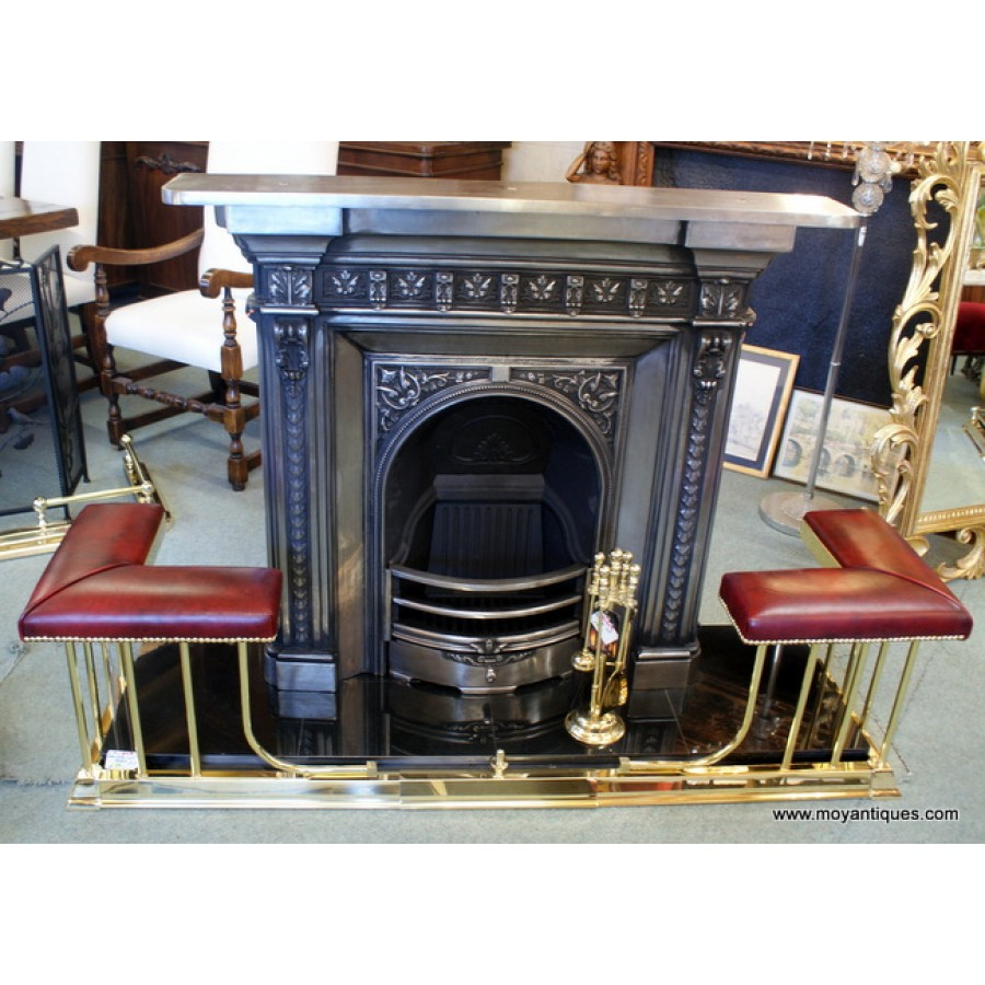 Cast Iron Fireplace Small