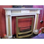 Marble Fireplace Pair