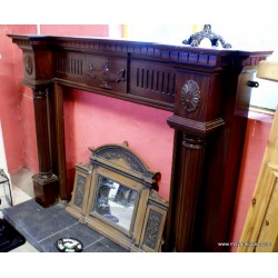 Fireplace Mahogany