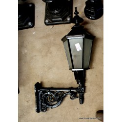Cast Iron Wall Lights Pair