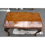 Burr Walnut Coffee Table SOLD