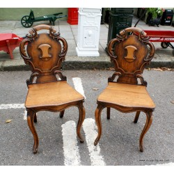 Pair Victorian Chairs