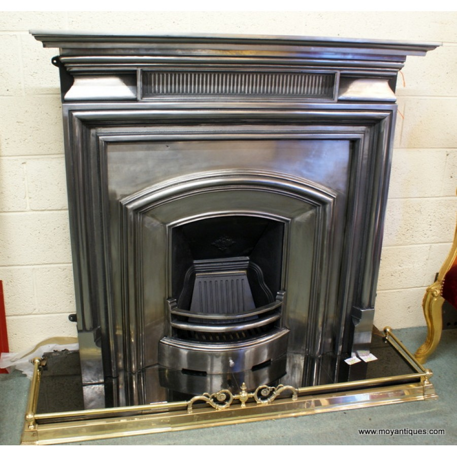 Cast Iron Silver Burnish Fireplaces