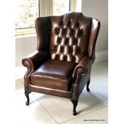Chesterfield Blue Flat wing Bronze