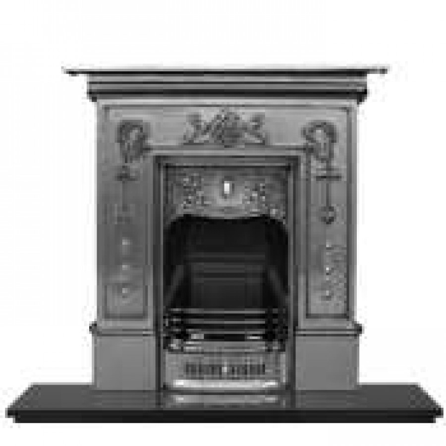 Cast Iron Fireplace Bella
