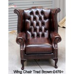 Chesterfield Wing Chairs