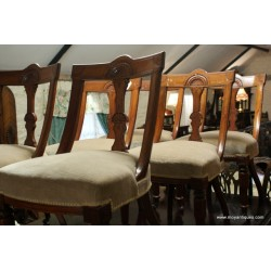 Set of 6 Victorian Chairs