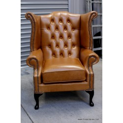 Chesterfield Wing Vintage Tan