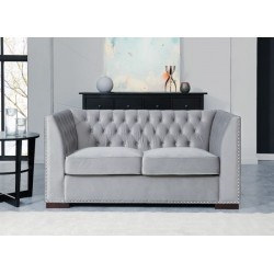 Chester 2 seater grey