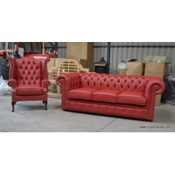 Chesterfield Sofs Cherry